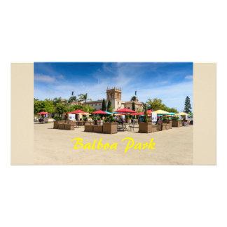Cartão Parque San Diego Califórnia do balboa