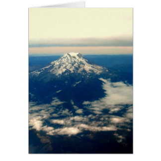 Cartão Parte superior da montanha