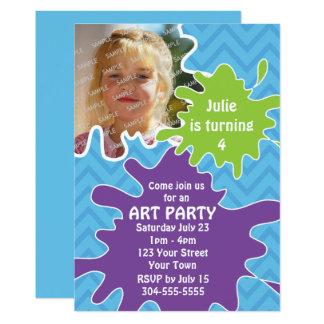 Cartão Partido da arte