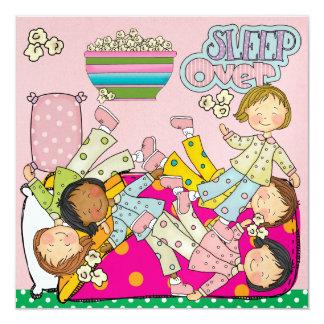 Cartão Partido de descanso - sono sobre