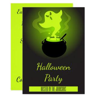 Cartão Partido de Spooktacular