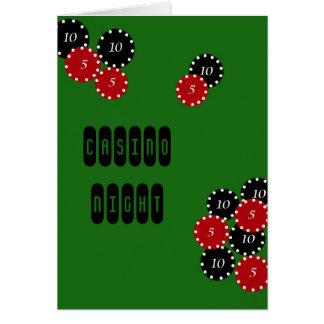 Cartão Partido do casino