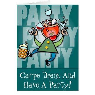 Cartão Partido do partido