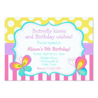 Cartão Partido dos beijos da borboleta e dos desejos do