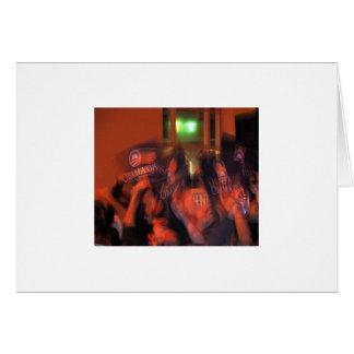 Cartão Partido San Francisco 2008 da vitória da eleição