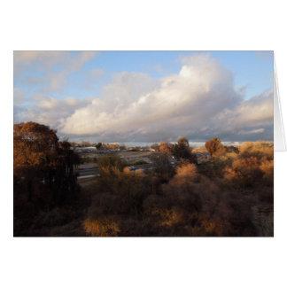 Cartão Paso Robles: Vista da ponte do memorial dos