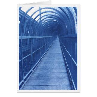 Cartão Passagem da ponte