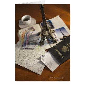 Cartão Passaporte e recordações