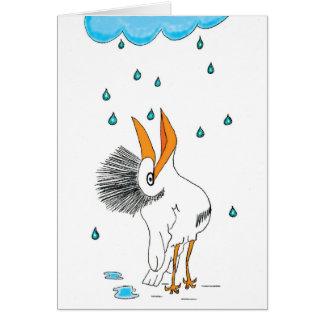 Cartão Pássaro resiliente