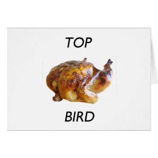 Cartão Pássaro superior