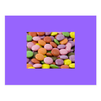 Cartão Pastel dos doces da páscoa Cartão Postal