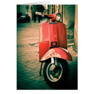 Cartão Patinete de Piaggio em Italia
