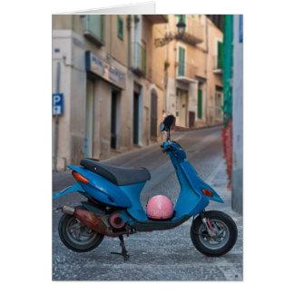 Cartão Patinete em Italia