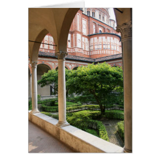 Cartão Pátio do convento