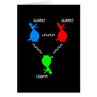 Cartão Pato do Quark de Proton