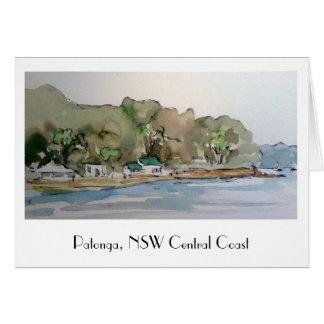 Cartão Patonga, costa da central de NSW