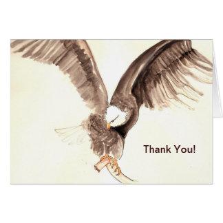 Cartão patriota #2 da águia