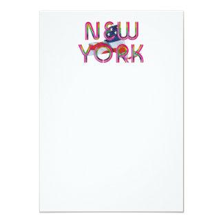 Cartão Patriota de New York do T