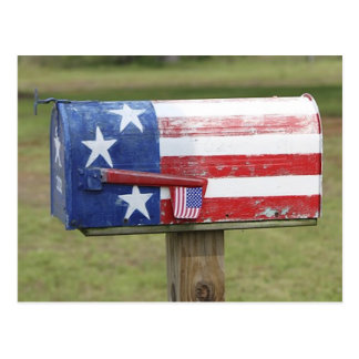 Cartão patriótico da caixa postal