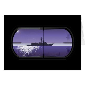 Cartão Patrulha submarina