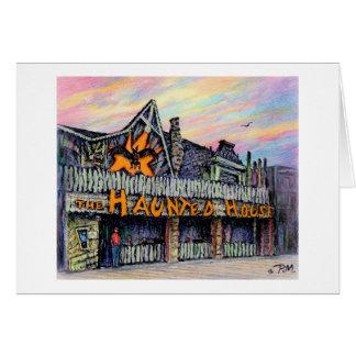 """Cartão Paul McGehee """"cartão da casa assombrada"""""""