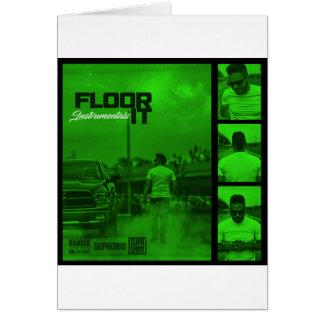 Cartão Pavimente-o cobrir dos Instrumentals