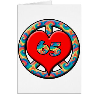 Cartão Paz, coração 65