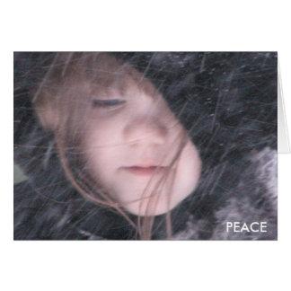 Cartão Paz de Emma