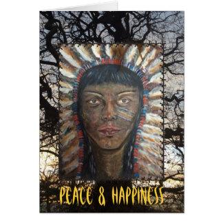 Cartão Paz & felicidade