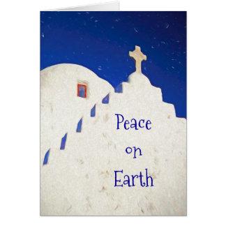 Cartão Paz na terra