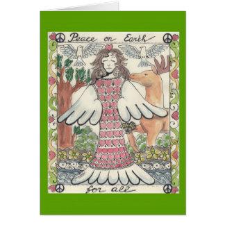 Cartão Paz na terra para TUDO, .card
