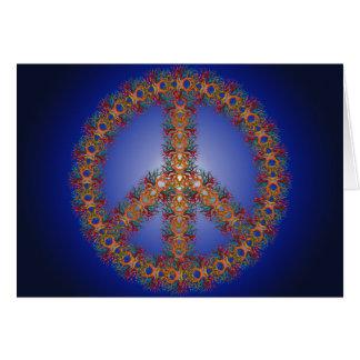 Cartão Paz no horizonte