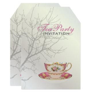 Cartão Pearl White que Wedding o partido nupcial dos