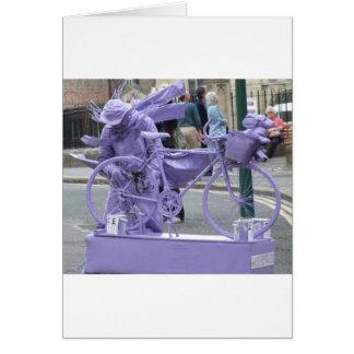 Cartão Pedaller roxo