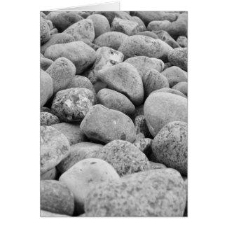 Cartão /pedras a Mar Báltico, ilha