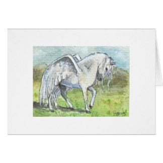 Cartão Pegasus aterrou