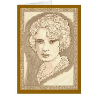 Cartão Peggy bonito