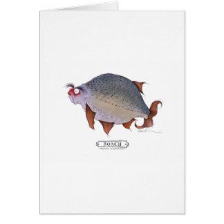 Cartão Peixes da barata, fernandes tony