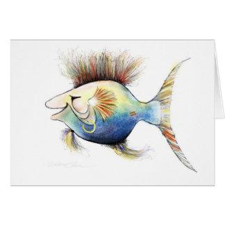 Cartão Peixes da fantasia: Bacalhau Stewart