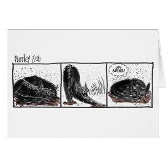 Cartão Peixes de Marley: A vida suga