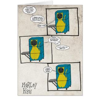 Cartão Peixes de Marley: Mágico