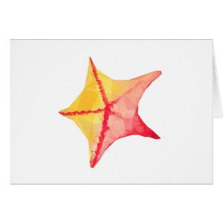 Cartão Peixes geométricos