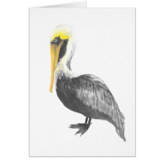 Cartão Pelicano de Brown
