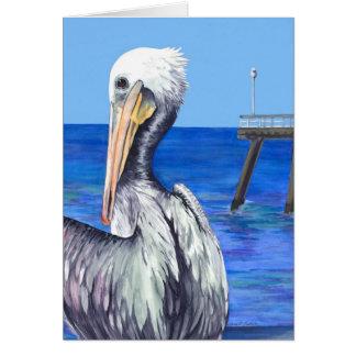 Cartão Pelicano de San Clemente