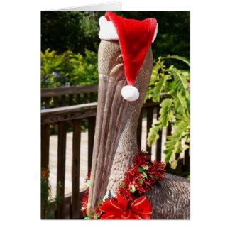 Cartão Pelicano do Natal