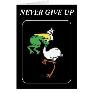 Cartão Pelicano engraçado