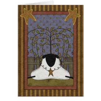 Cartão Pensamento de você carneiros