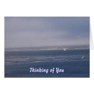 Cartão Pensamento de você - faltando o carde