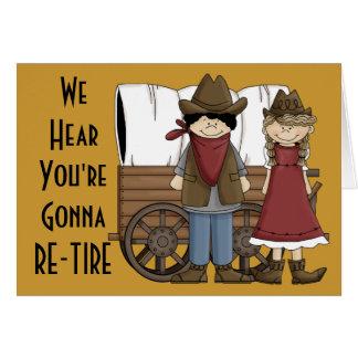 Cartão Pensamentos engraçados da aposentadoria - humor