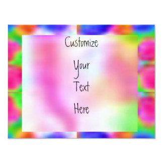 Cartão Pense cor-de-rosa - investigação do cancro do